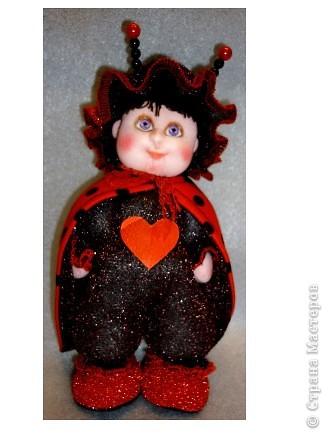 Я матрос, хоть и не дорос. Текстильная кукла. Рост 25 см фото 7