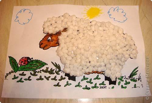 Поделка своими руками овечка для детей