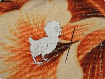 Этот МК я решила сделать в помощь тем, у кого, как и у меня, не очень хорошо обстоит дело с рисованием)) Для начала надо выбрать рисунок, который вы хотели бы слепить... Я нашла вот такую птаху, ведь скоро пасха, надо готовиться... фото 3