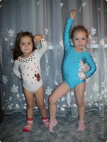 Украшаем купальник для художественной гимнастики своими руками