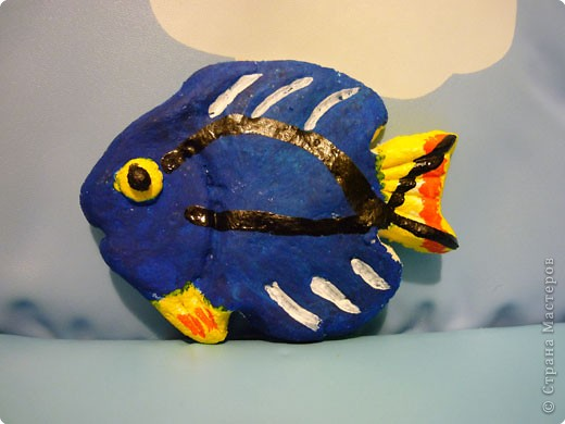 Лепка: рыбеха