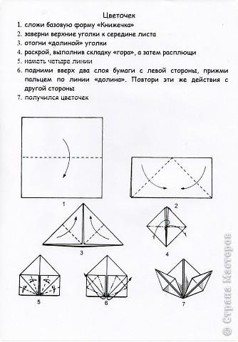 8 марта Оригами Цветы оригами для любимой мамы СХЕМЫ Бумага фото 1