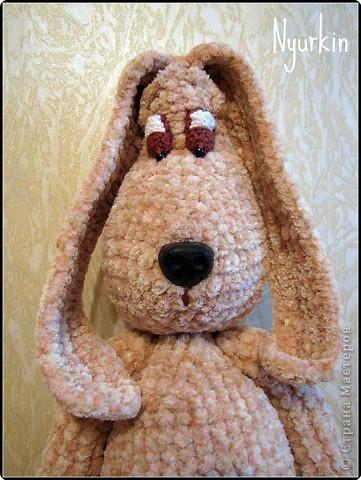 Вязание крючком: Интеллигент, мечтатель, философ... и просто отличный друг - пёсик Шарик! =) фото 3