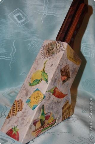 Обновили и подставку для ножей))) фото 2