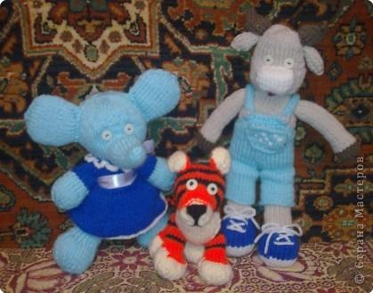 Вот такие друзья появились у моего тигренка))))