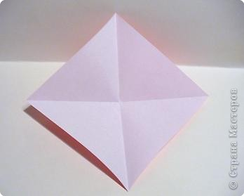Мастер-класс 8 марта День матери День рождения День учителя Оригами Простая роза оригами Бумага фото 3