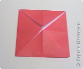 Мастер-класс 8 марта День матери День рождения День учителя Оригами Простая роза оригами Бумага фото 4