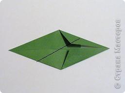 Мастер-класс 8 марта День матери День рождения День учителя Оригами Простая роза оригами Бумага фото 12