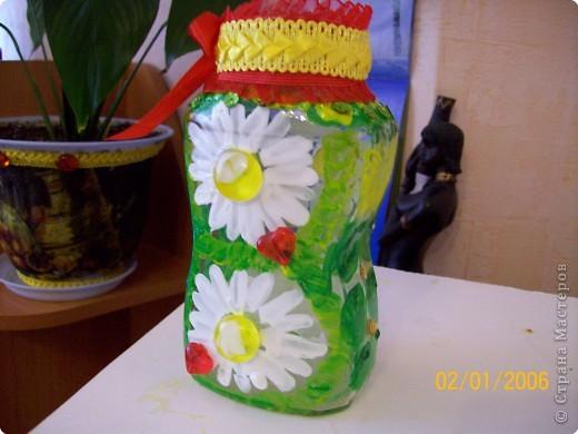 Роспись: Еще вазочка фото 1