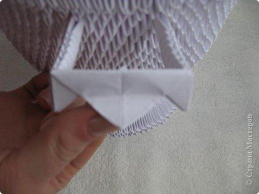 Мастер-класс Поделка изделие Масленица Оригами китайское модульное Золотой самоварМК Бумага фото 11