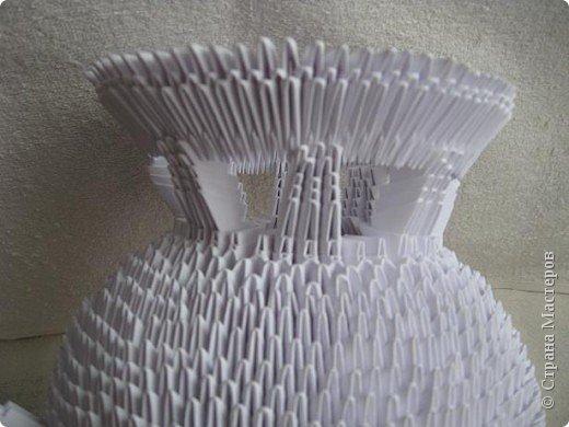 Мастер-класс Поделка изделие Масленица Оригами китайское модульное Золотой самоварМК Бумага фото 13