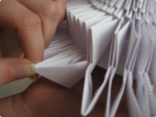 Мастер-класс Поделка изделие Масленица Оригами китайское модульное Золотой самоварМК Бумага фото 16