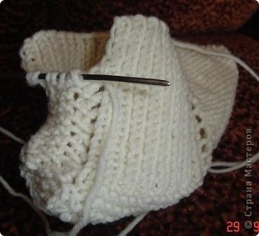 Гардероб Мастер-класс Вязание спицами Вязание следков Пряжа фото 15