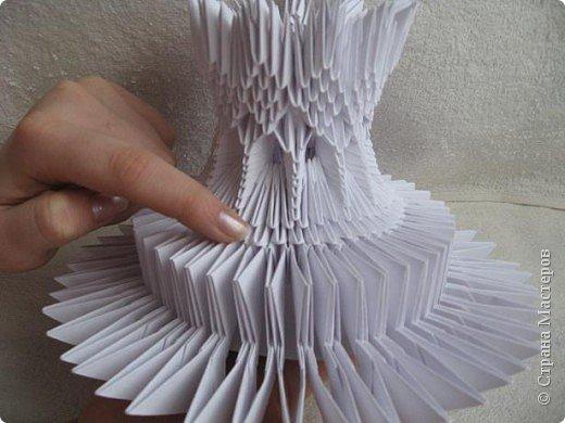 Мастер-класс Поделка изделие Масленица Оригами китайское модульное Золотой самоварМК Бумага фото 20