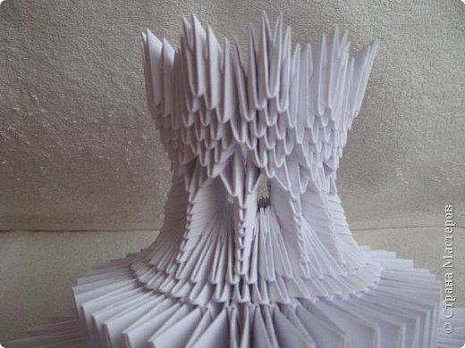 Мастер-класс Поделка изделие Масленица Оригами китайское модульное Золотой самоварМК Бумага фото 21