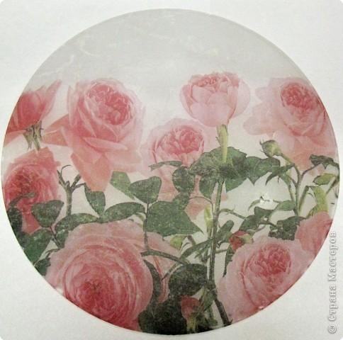 На этой тарелочке я покажу как можно имитировать рисовую бумагу.  фото 5