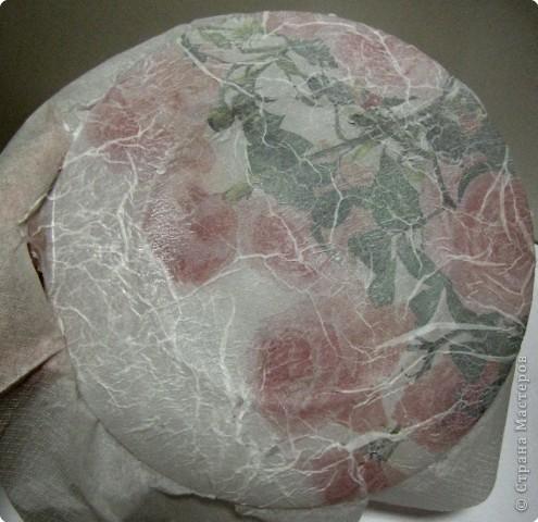 На этой тарелочке я покажу как можно имитировать рисовую бумагу.  фото 6