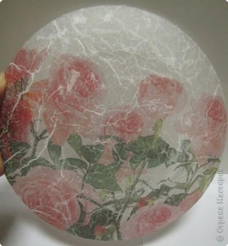 На этой тарелочке я покажу как можно имитировать рисовую бумагу.  фото 7
