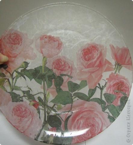 На этой тарелочке я покажу как можно имитировать рисовую бумагу.  фото 8