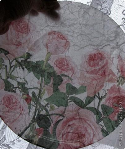 На этой тарелочке я покажу как можно имитировать рисовую бумагу.  фото 10