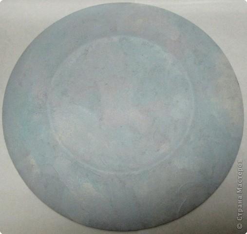 На этой тарелочке я покажу как можно имитировать рисовую бумагу.  фото 15