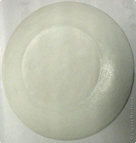 На этой тарелочке я покажу как можно имитировать рисовую бумагу.  фото 17