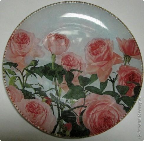 На этой тарелочке я покажу как можно имитировать рисовую бумагу.  фото 1