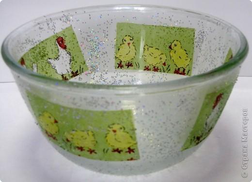 Пасхальный салатник фото 9