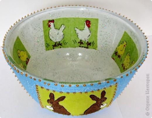 Пасхальный салатник фото 16