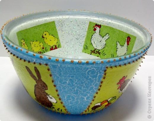 Пасхальный салатник фото 1