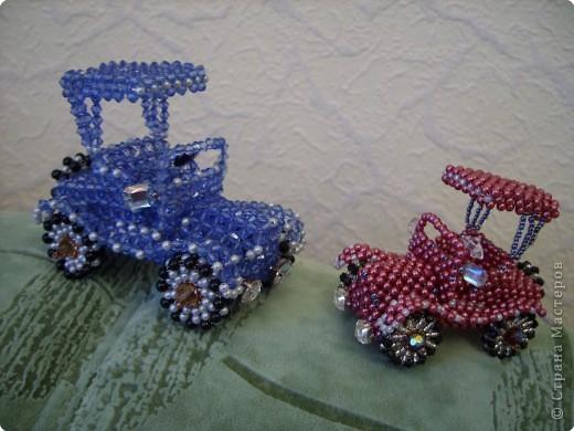 Машинки Бисер фото 1