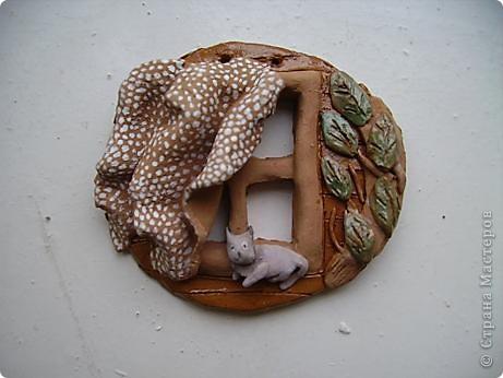 Жар-птица из ткани. фото 18