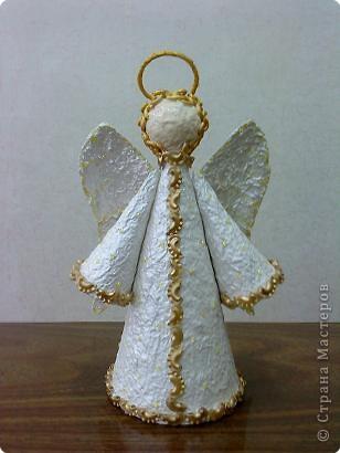 Ангелы своими руками к рождеству