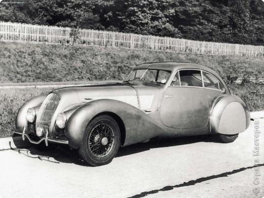 Автомобиль Bentley Embiricos (1937) фото 7