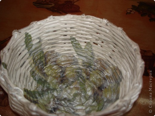 Плетение: Корзиночка фото 2