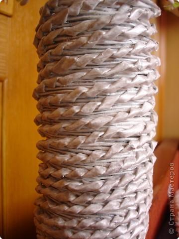 Плетение: Ваза фото 2