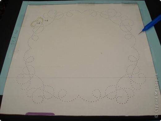 Мастер-класс Пасха Изонить Пергамано Открытка +Схема Бумага фото 5.