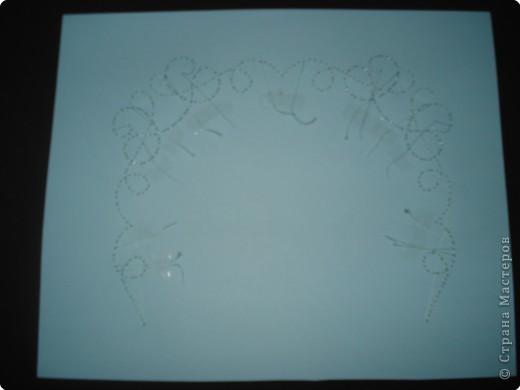 Мастер-класс Пасха Изонить Пергамано Открытка +Схема Бумага фото 12.