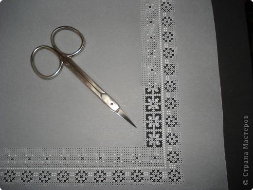 Мастер-класс Пасха Изонить Пергамано Открытка +Схема Бумага фото 14.