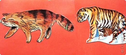 Пока ребенок маленький он живет в мире сказок, где комары и мухи, медведи и лягушки мирно живут в одном теремке. Художники рисуют животных , иногда специально не соблюдая истинных размеров животных. Дети рисуют на стандартном листе, лепят из комочка глины, который умещается в кулачке. Вот и случается, что гриб и елочка могут быть одной высоты.   фото 7