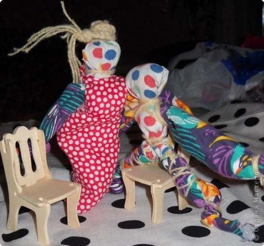 Куклы и поделки из лоскутков
