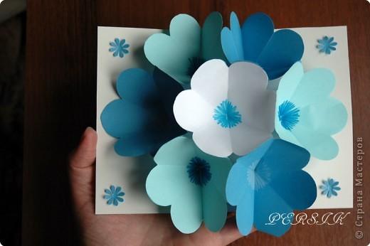 Открытки из бумаги с цветами