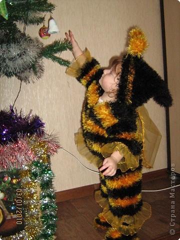 Шитьё: Новогодние костюмы для сына и племянницы фото 2