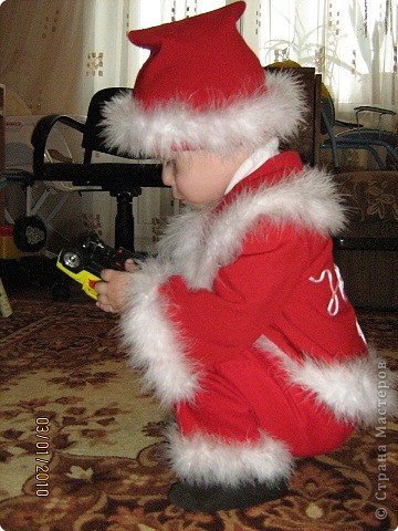 Шитьё: Новогодние костюмы для сына и племянницы фото 3