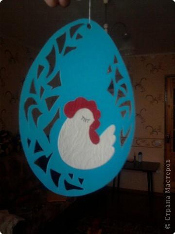 Вот такими яичками можно украсить интерьер к Пасхе. фото 2