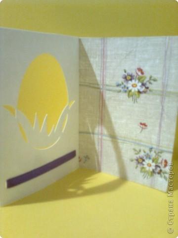 Вырезание: Пасхальные открытки фото 6
