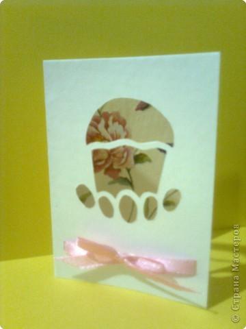 Вырезание: Пасхальные открытки фото 3