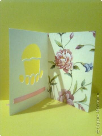 Вырезание: Пасхальные открытки фото 4