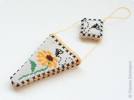 Вышивка крестом: Комплект вышивальщицы. фото 4