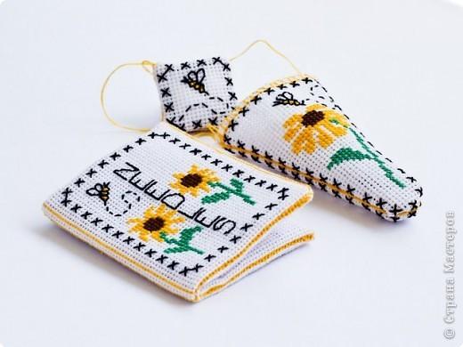 Вышивка крестом: Комплект вышивальщицы. фото 1